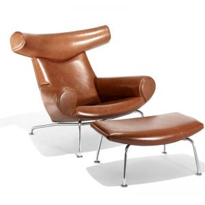 OX-Chair And Ottoman