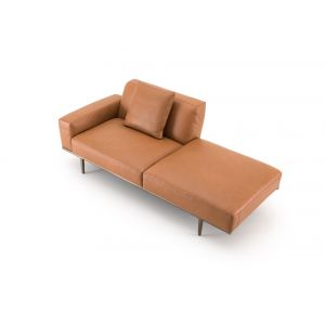 fabric chaise