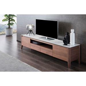 walnut TV unit